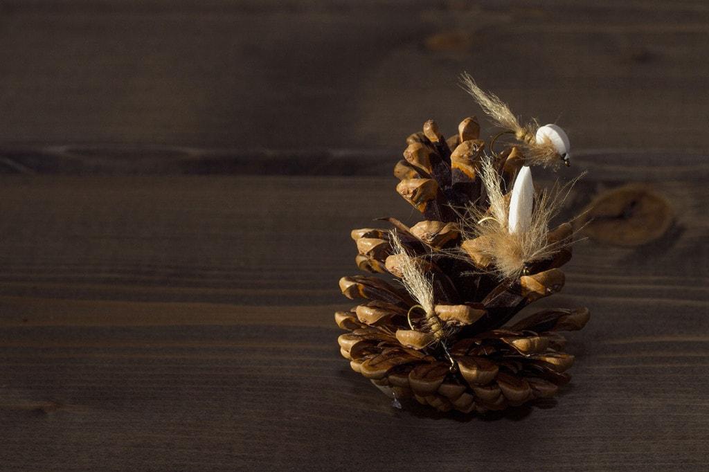 Fluebinding: Steg for steg av Lureflua. // Foto: Andreas Lium